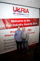 UK railway awards 2014